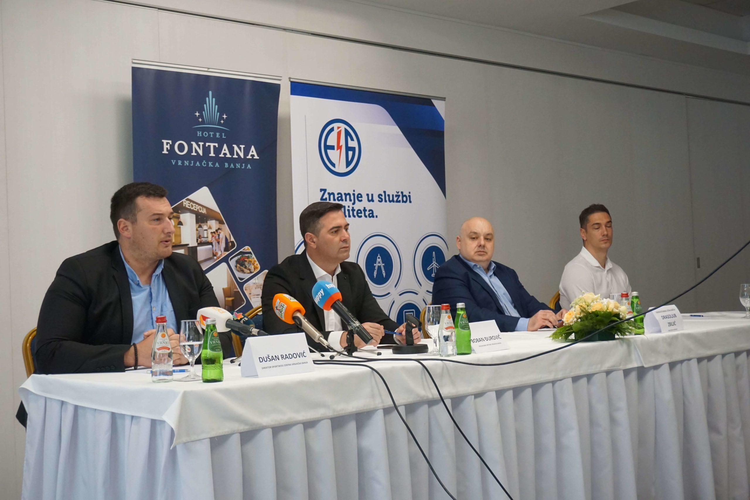 "Konferencija za medije povodom predstojećeg ""Play Volley Camp 2020"""