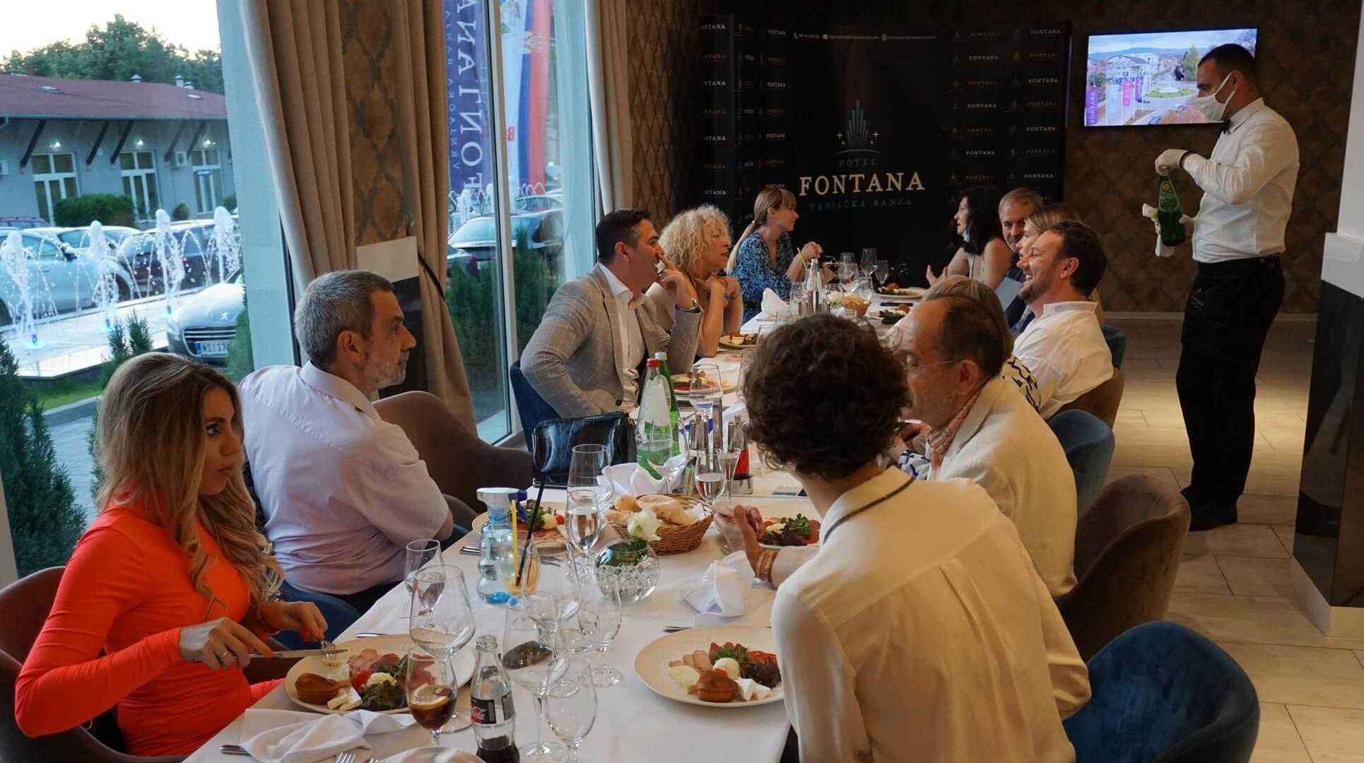 Poseta francuskih turističkih novinara hotelu Fontana